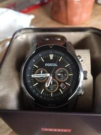 New Fossil Chronograph Watch