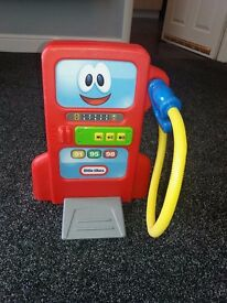 Little Tikes petrol pump with sounds