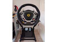 Trustmaster TX Wheel Ferrari 458 Italia Edition For XBOX ONE + GT Omega Steering Wheel stand PRO V2