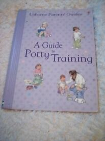 Potty training book for parents.
