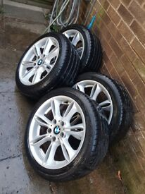 Nice set pff alloys with run flats