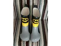 Batman wellies
