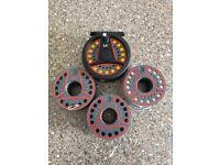 Leeda LC 80 Reel + 4 spools