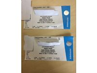 Two Tickets Take That Concert Liberty Stadium Swansea 14th of June 2017