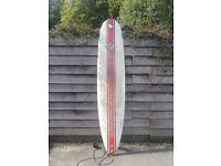 9FOOT BILBO WAVE WIZARD LONGBOARD SURFBOARD