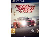 Need for speed payback amazing condition
