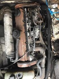 Volkswagen lt 35 engine and gearbox working
