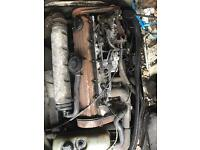 Volkswagen lt 35 engine and gearbox working