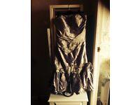 Ian Stuart dress. Beautifu on a sheen lilac in colour.