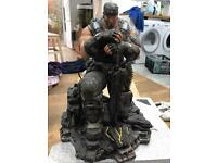 Gears of war 3 epic edition Marcus Phoenix statue mint rare boxed