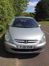 Peugeot 307 HDI 2 litre 12 months mot £450 Ono