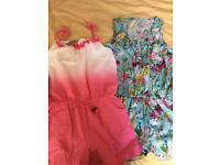 2 x next jumpsuits 1 bnwt age 11
