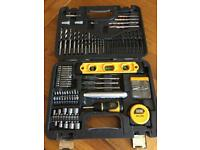 Mixed drill and screwdriver bit set