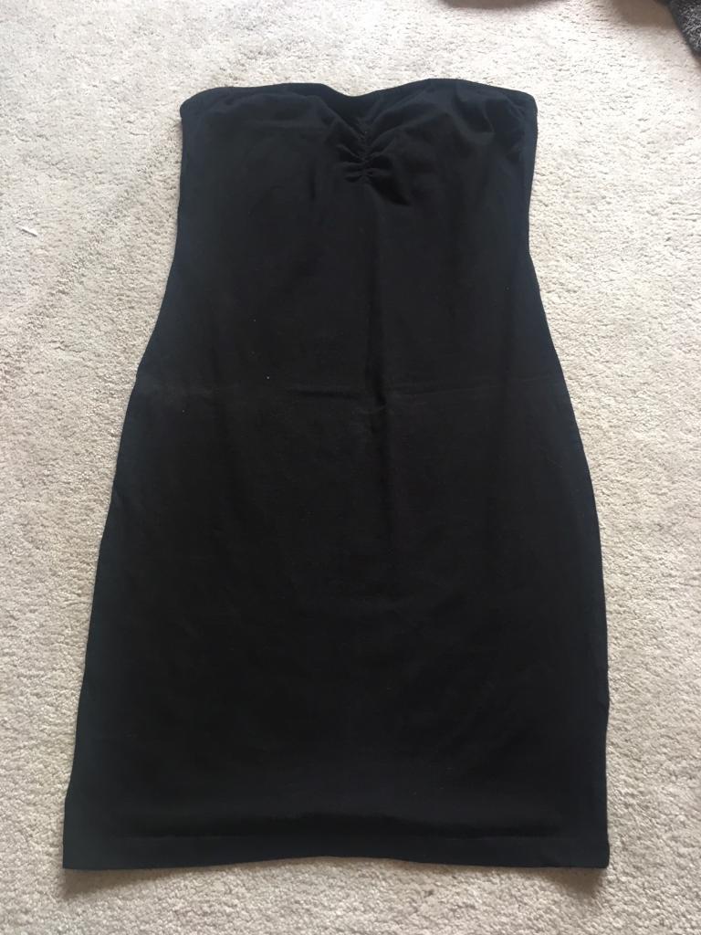 Black tube dress size 12