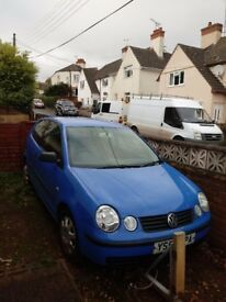 Vw polo for spares or repair
