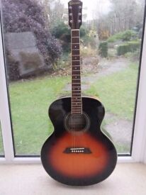 Acoustic Guitar:Jumbo by Crafter:with detachable Pickup:Excellent condition.