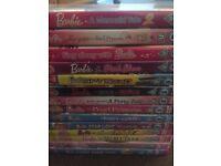 BARBIE 18 movie DVD BOXSET plus 14 more BARBIE DVDs - 32 movies!!!!