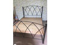 Kingsize Wrought Iron Bed Frame