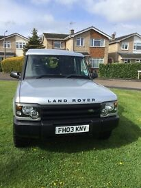 Land Rover Discovery 2 2.5 TD5 E Station Wagon 5 door 5 seats 2003 03 plate.