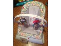 Fisher price newborn+ vibrating seat rocker