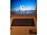 Acer white chromebook 13 in excellent condition laptop