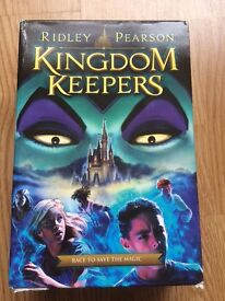 Box set, Disney Kingdom Keepers, based on Walt Disney World!