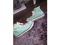 Converse mint green size 12 and half