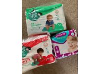Free size 4 nappies