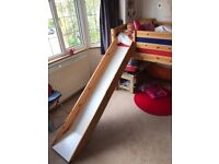 Thuka midsleeper with slide in excellent condition