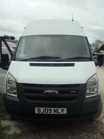 FORD TRANSIT 2.4 RWD, 100/T350L, 2009, JUST HAVE TOP END REBUILD, 1/2 TON TAIL LIFT, 1 COMPANY OWNER