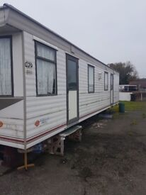 Static caravan / mobile home