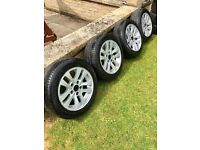 "16"" BMW Alloys and tyres, very cheap!!"