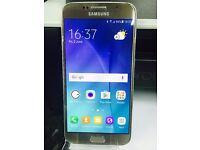 Samsung Galaxy S6 32GB - Excellent condition GOLD. VODAFONE