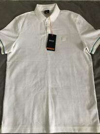 HUGO BOSS POLO T-SHIRT MEDIUM BNWT