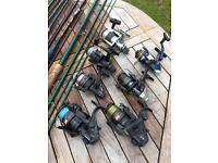 JOB LOT OF COURSE FISHING GEAR