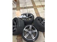 "BMW ""19 m6 alloys genuine"