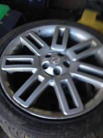 Mg Ztt 18 inch alloy wheels x4