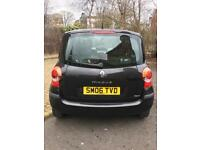 gd condition clean car cp insurance07827 548206 Renault modus 1.2 5 door hatchback 2006 mot June 1