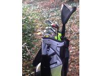 Nike Speed Vapor irons....Nike driver.....Nike putter.....Nike bag