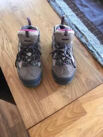 Girls walking boots size 12