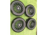 """Alloy Wheels 17"""" inch Van rated tyres for Mercedes Vito ML Volkswagen Ford Transit 7.5 ET45"""