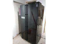 Black Samsung American Fridge Freezer - BARGAIN IF GONE TODAY!!