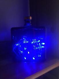 Haig whiskey bottle lamp