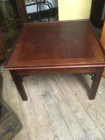 NICE VINTAGE SQUARE COFFEE TABLE - CAN DELIVER
