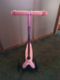 Pink mini micro scooter - limited edition