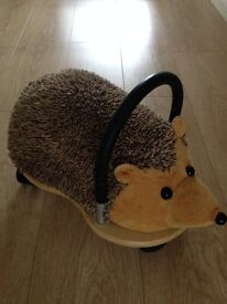 Ride on Scuttle Bug - Hedgehog. Excellent condition