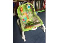 Fisher price vibrating rocking baby chair