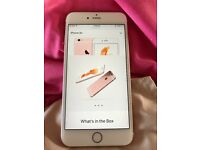 iPhone 6s Plus Rose Gold 128gb good condition on Network EE