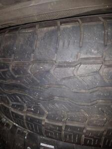 2 pneus d'été, 225/65/17, Yokohama, Geolandar G93, 45% d'usure, 5/32 de mesure.