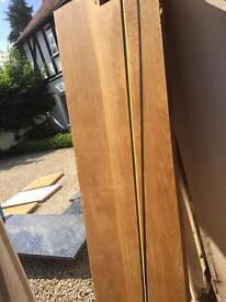 Solid Oak worktop pieces
